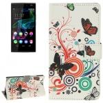 Schutzhülle Muster 2 für Wiko Ridge Fab 4G Bookcover Tasche Hülle Wallet Case