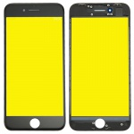 Display Glas für Apple iPhone 8 4.7 LCD Displayglas + Rahmen + OCA Kleber Black
