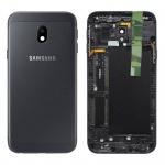 Samsung GH82-14891A Akkudeckel Deckel für Galaxy J3 J330F 2017 Schwarz Gehäuse