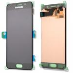 Display LCD Komplettset GH97-18250B Schwarz für Samsung Galaxy A5 A510F 2016 Neu