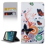 Schutzhülle Muster 2 für LG Google Nexus 5X Bookcover Tasche Hülle Book Case