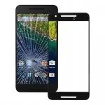 Premium Displayglas Glas Schwarz für Google Nexus 6P Zubehör + Reparatur KIT