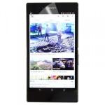 Displayschutzfolie Folie für Sony Xperia Z Ultra XL39H Zubehör + Poliertuch Neu