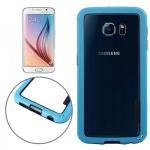 Hybrid Bumper Blau Hülle Case Schale Tasche für Samsung Galaxy S6 G920 G920F Neu
