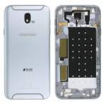 Samsung GH82-14448B Akkudeckel Deckel für Galaxy J7 J730F 2017 Duos Silber Neu