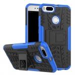 New Hybrid Case 2teilig Outdoor Blau für Xiaomi Mi 5X Mi A1 Tasche Hülle Cover