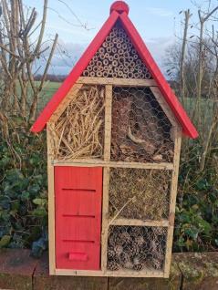 Insektenhotel XL aus Holz Luxushotel 79 x 45 x 20 cm Insektenhaus Nisthaus