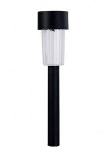 3er Set LED-Solarleuchten mit Erdspieß, Solarstick, Wegeleuchten, Solarlampe - Vorschau 3