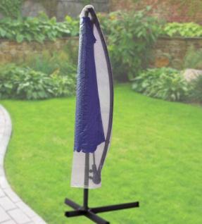 Komfort Schutzhülle für runde Ampelschirme mit einem Ø von 200-400cm, transparent