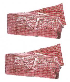 2x Auflagen Tasche Schutzhülle Hochlehner Tragetasche für Sitzkissen 125 cm PE