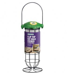 Futterstation für Meisenknödel Panorama Vogel-Futterspender Hängen oder Stellen