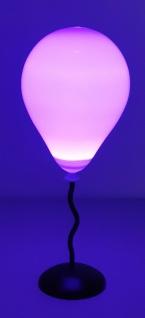 LED Ballon Tischlampe 35 cm mit RGB Farbwechsel Micro USB oder Batteriebetrieb