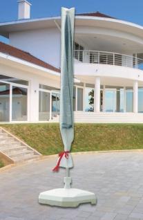 Schutzhülle Abdeckung für Landhausschirm Ø 400 cm transparent