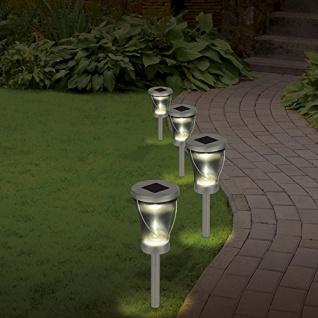 LED Solarlampen 2er Set TV Unser Original 3 in 1 Solarleuchte Gartendekoration - Vorschau 4