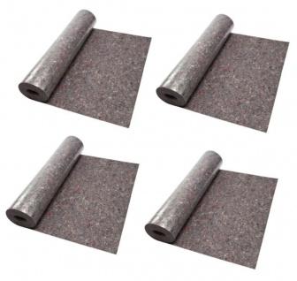 Malervlies 4 Stück 1 m x 10 m Abdeckvlies 180gr/qm mit PE-Schicht Mehrzweck