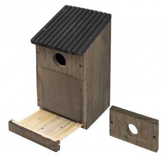 Gardman Mehrzweck-Vogelhaus austauschbare Fronten Nist-Brutkasten Rotkehlchen