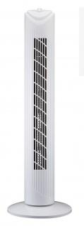 Turmventilator mit 80° Oszillation Standventilator 3 Stufen 80cm Kühlgerät