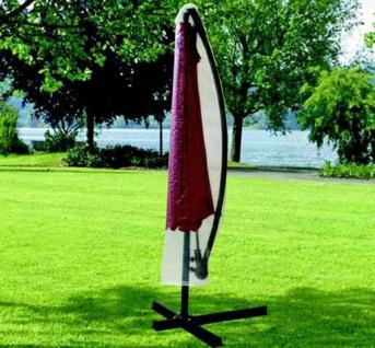 Hülle, Schutzhaube, Schutzhülle für Alu Ampelschirm 300cm transparent