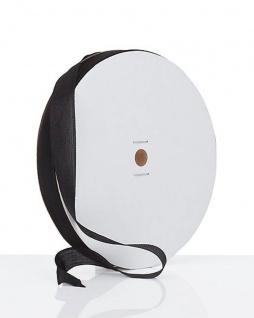 Seidenband Satinband Rayon Band schwarz 91 m Bastelband Geschenkband auf Rolle
