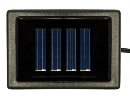 LED Solar Buchsbaum Kugel mit 20 warmweißen LEDs, beleuchtete Buchskugel Ø 20 cm - Vorschau 4