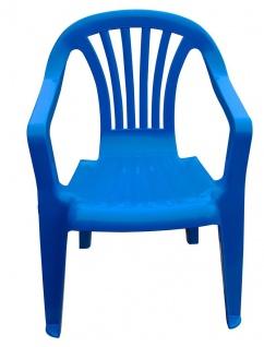 Kinder Gartenstuhl Stapelstuhl Kinderstühle Kindersessel versch. Farben wählbar - Vorschau 2