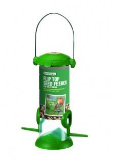 Gardman Futtersäule Kunststoff für Mischfutter Vogelfutterspender zum Hängen