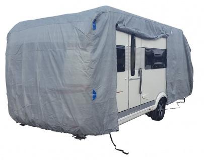 Premium Wohnwagenschutzhülle Schutzhülle für Wohnwagen Caravan 550x250x220 cm