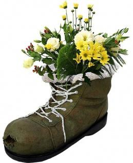 Blumentopf Pflanzschuh Pflanzkübel Blumenkübel Pflanzenschale Garten-Deko