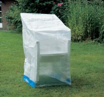 Heipei Schutzhülle für Stuhl oder Relaxsessel 66x63x117cm mit Saum und Ösen