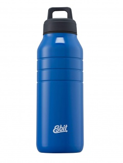Esbit Trinkflasche Majoris Edelstahl BPA-Frei Blau 1000 ml Wasserflasche