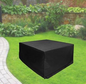 Komfort Schutzhülle für quadratische Gartentische 90x90x40 cm anthrazit