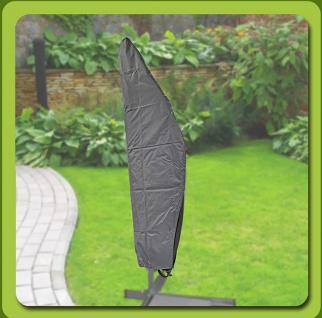 Komfort Schutzhülle für runde Ampelschirme Ø bis 300 cm 197x65x47 cm
