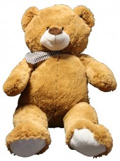 XL Teddybär Plüschbär Plüsch Plüschtier Teddy Stoffbär Kuscheltier braun 92 cm