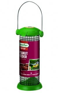 Gardman Draht Futtersäule für Erdnüsse Vogelfutterspender Futterstation 20cm