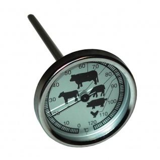 Bratenthermometer, Grill Ofen Fleisch Thermometer, Fleischthermometer neu