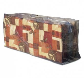 Tragetasche für Gartenmöbel Auflagen, Aufbewahrungstasche für Auflagen 125x32x50cm