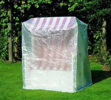 Profiline Schutzhülle für Strandkorb Gartenmöbel Transparent 160 x 130 x 108 cm