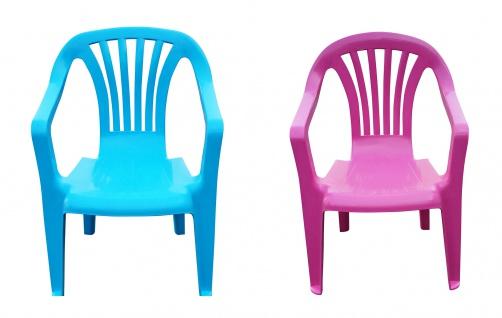 Kinder Gartenstuhl Stapelstuhl Kinderstühle Kindersessel Monoblock Farbe wählbar