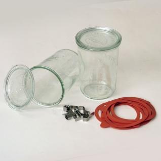 Einkochglas Weck Sturzform Rundrandglas Einmachglas 4 Stück á 0, 75 Liter - Vorschau