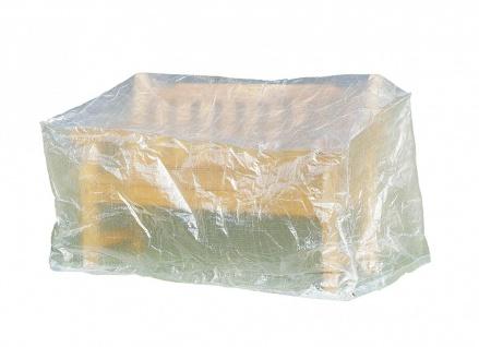Greemotion Schutzhülle für Gartenbank wasserabweisend Transparent 160x75x78cm