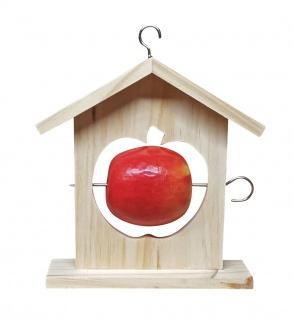 Meisenknödelhalter Apfel-Design Vogelfutterstation Futterspender Futterstation