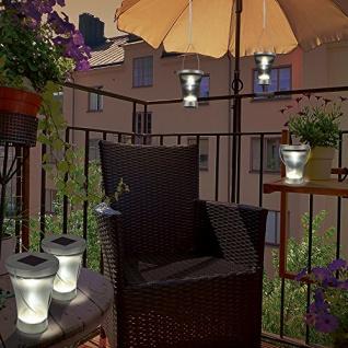 LED Solarlampen 2er Set TV Unser Original 3 in 1 Solarleuchte Gartendekoration - Vorschau 3