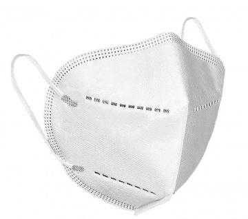10 Atemschutzmasken Mundschutz FFP2 Gesichtsmaske Schutzmaske Nasenmaske Maske