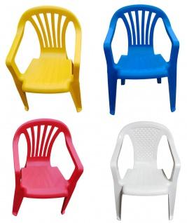 Kinder Gartenstuhl Stapelstuhl Kinderstühle Kindersessel versch. Farben wählbar - Vorschau 1