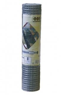Drahtgitter 5m Rolle 12, 7 mm Maschenweite 1000mm hoch Maschendrahtzaun