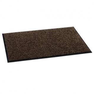 Fußmatte, Schmutzfangmatte, Türmatte, Fußabtreter braun 90 x 60 cm