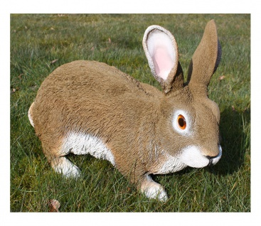 Schöner Dekohase, Dekofigur Hase, Feldhase, Rammler, Kaninchen, Gartendeko