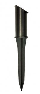 LED Solar Buchsbaum Kugel mit 20 warmweißen LEDs, beleuchtete Buchskugel Ø 20 cm - Vorschau 5