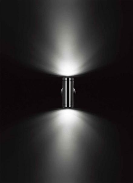 Edelstahl UP UP UP & Down-Strahler Außenstrahler mit IF-Sensor Aussenbeleuchtung 78a65d