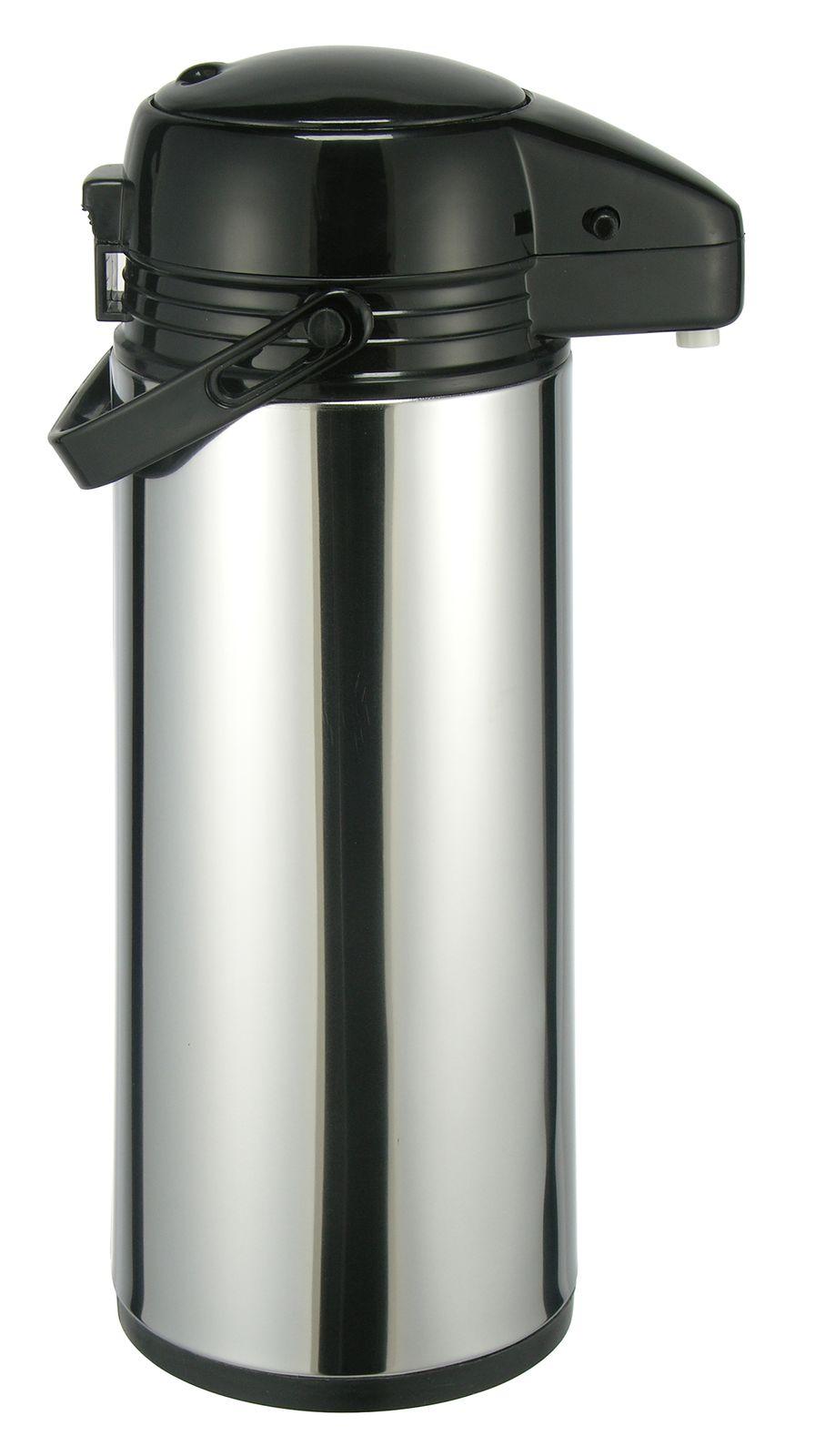 Airpot 9 Liter Pumpkanne Isolierkanne Thermo Kanne Kaffeekanne Edelstahl